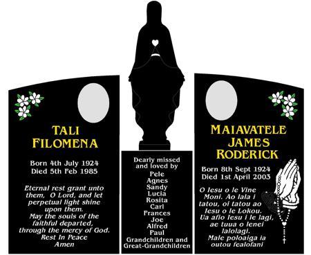 Helpful Information Crafted Memorials